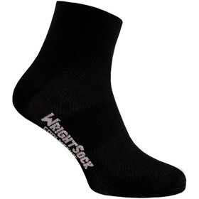 Wrightsock Coolmesh II Quarter Calze, black